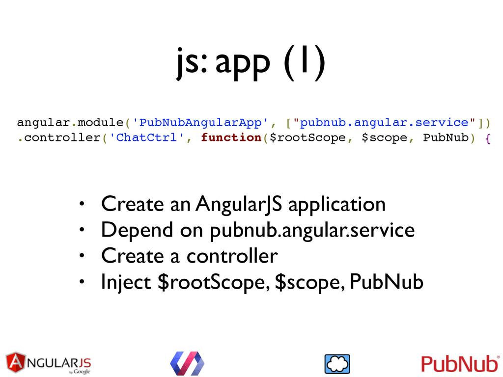 js: app (1) angular.module('PubNubAngularApp', ...