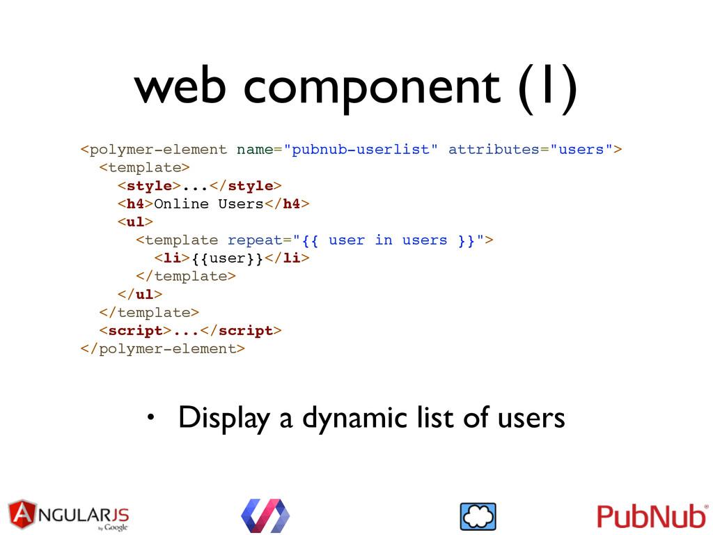 "web component (1) <polymer-element name=""pubnub..."