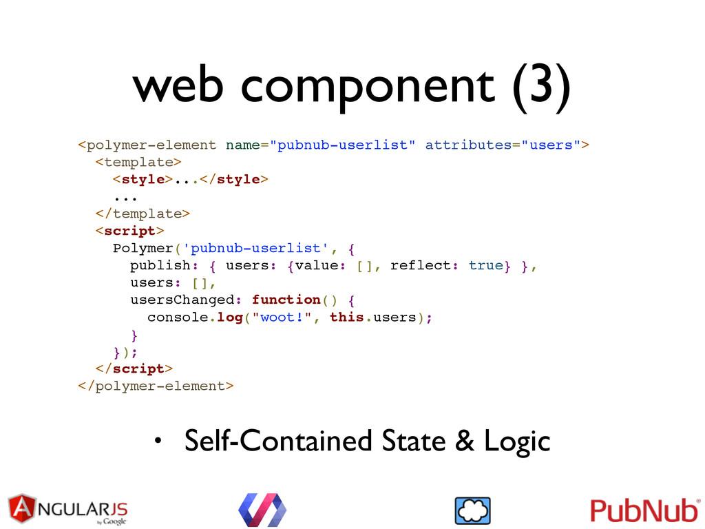 "web component (3) <polymer-element name=""pubnub..."