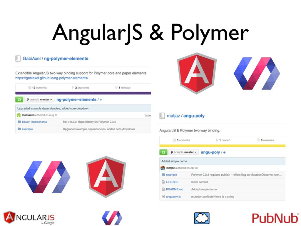 AngularJS & Polymer