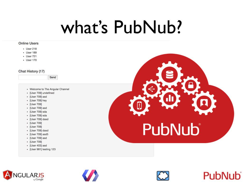 what's PubNub?