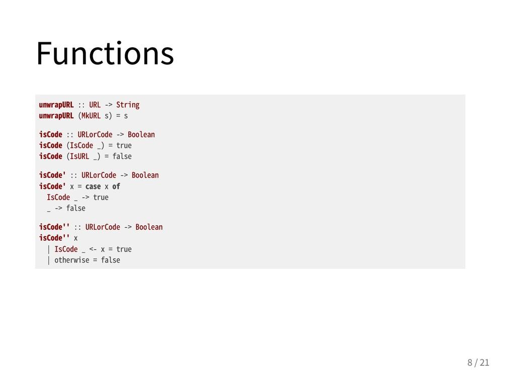 Functions unwrapURL::URL->String unwrapURL...