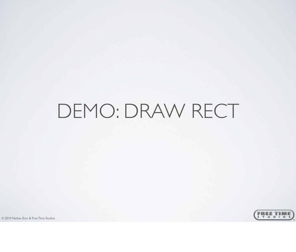 DEMO: DRAW RECT