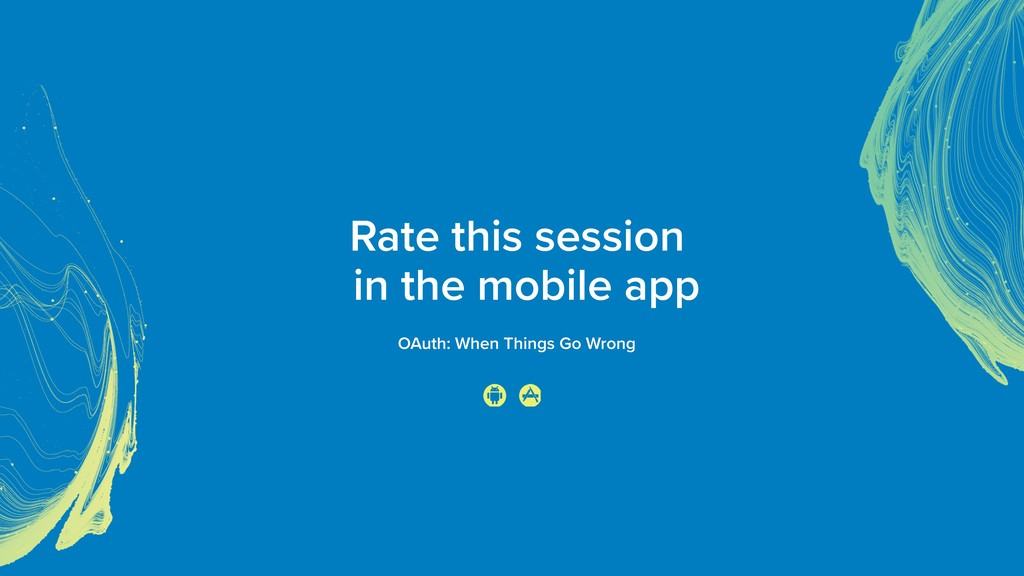 Rate this session 