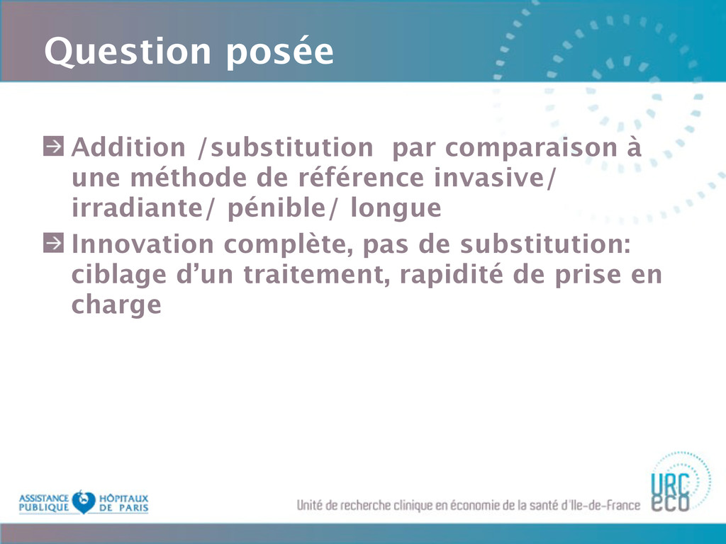 Question posée Addition /substitution par compa...