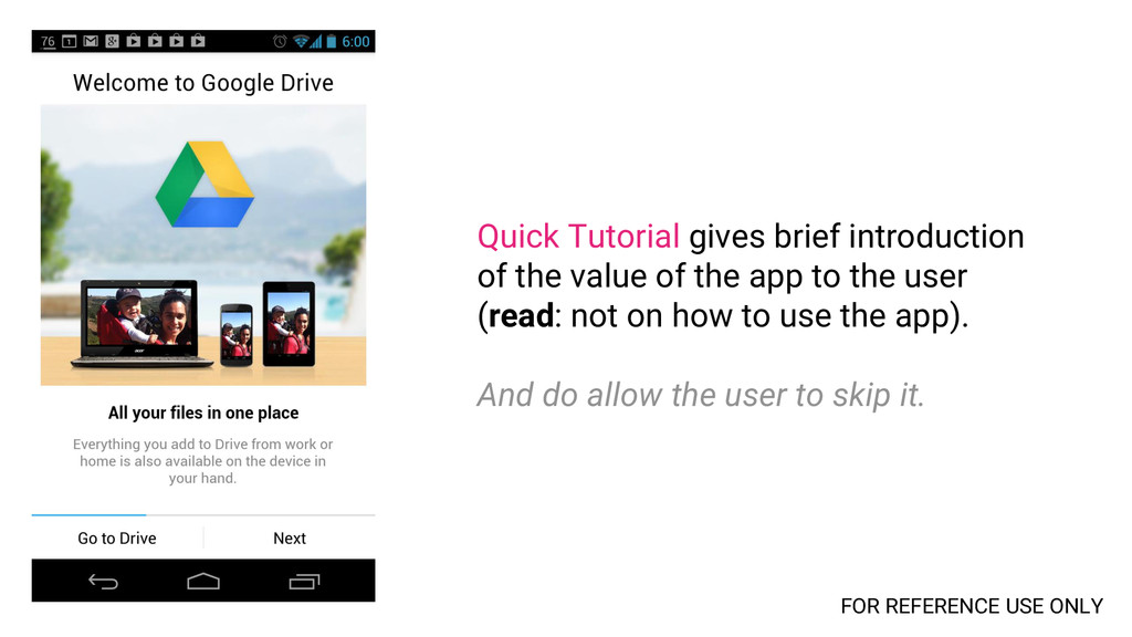 Quick Tutorial gives brief introduction of the ...