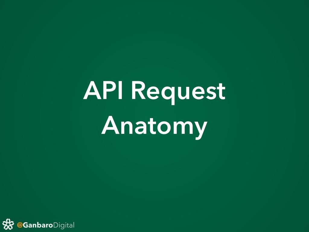 @GanbaroDigital API Request Anatomy