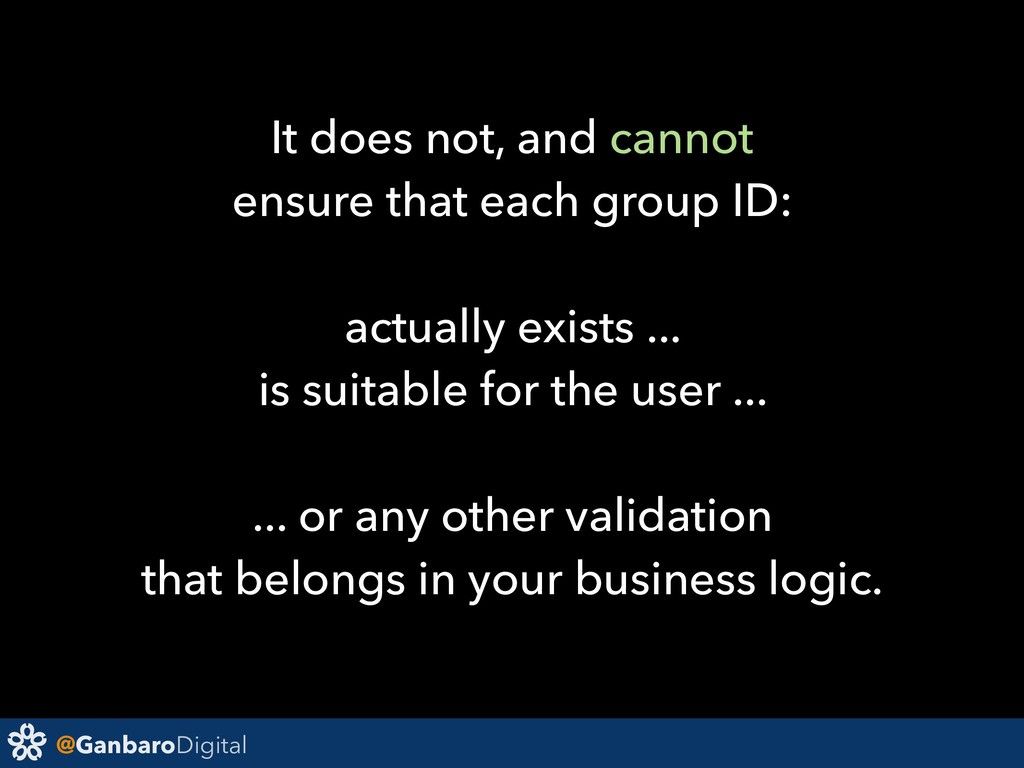 @GanbaroDigital It does not, and cannot ensure ...