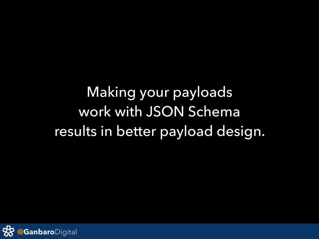 @GanbaroDigital Making your payloads work with ...