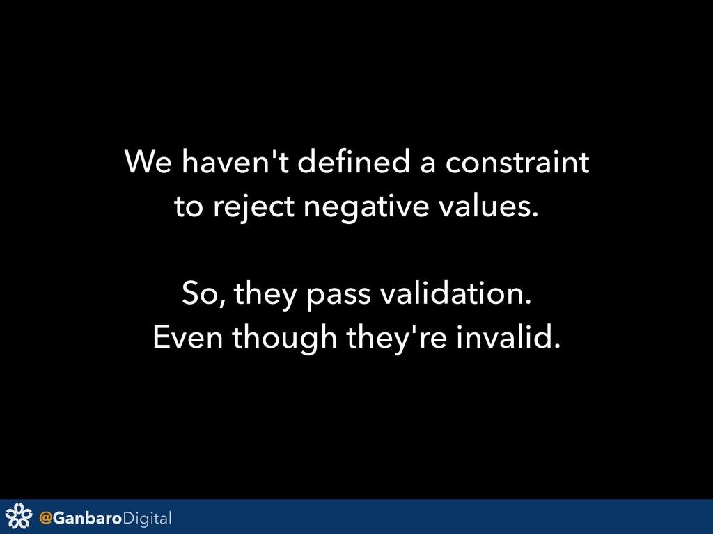 @GanbaroDigital We haven't defined a constraint ...