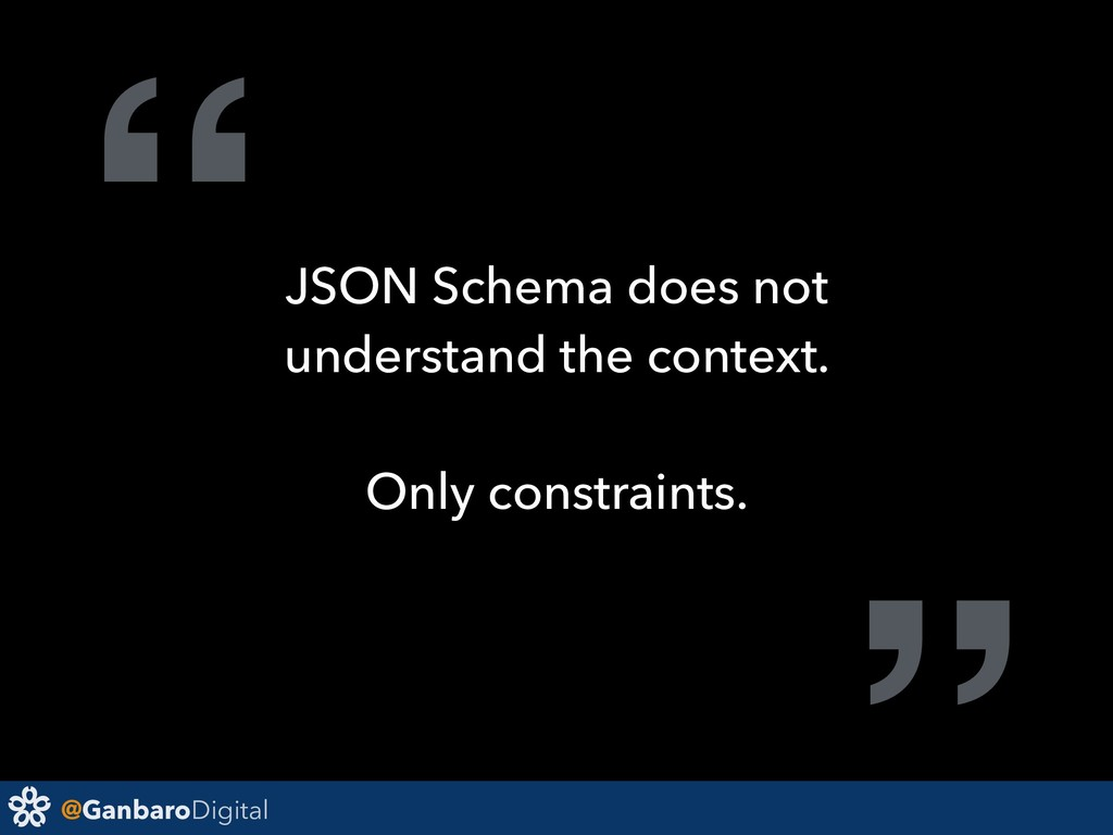"""@GanbaroDigital """"JSON Schema does not understan..."""
