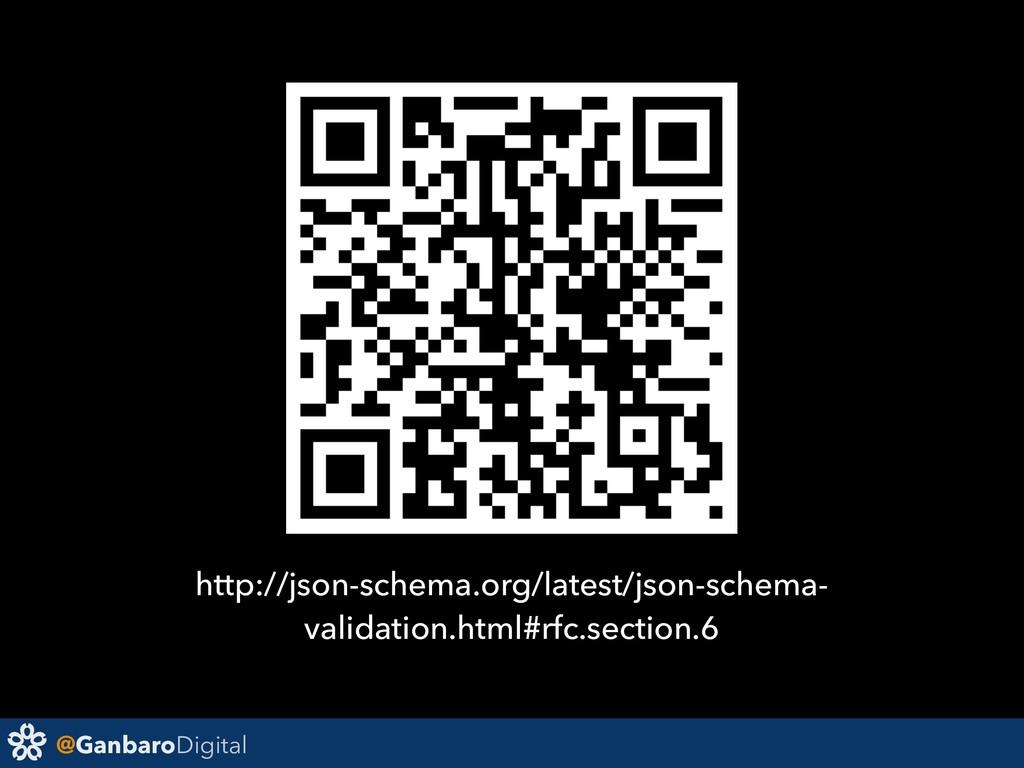@GanbaroDigital http://json-schema.org/latest/j...