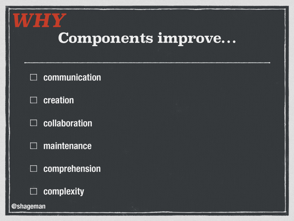 Components improve… communication creation coll...
