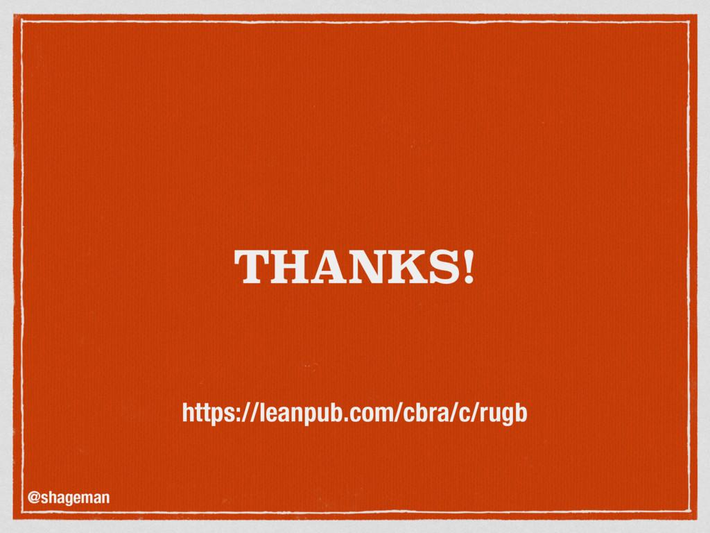 THANKS! @shageman https://leanpub.com/cbra/c/ru...