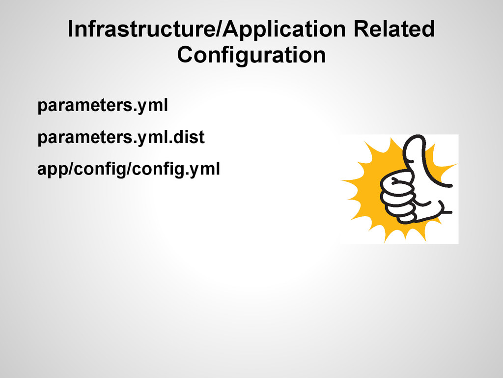 Infrastructure/Application Related Configuratio...