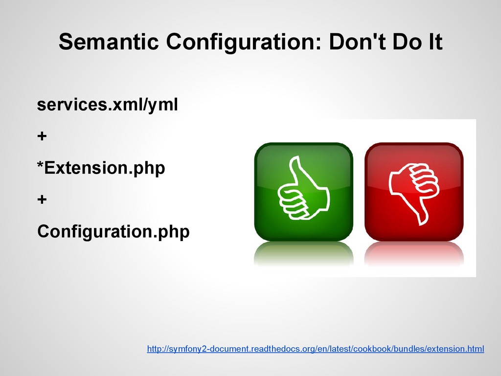 Semantic Configuration: Don't Do It services.xm...