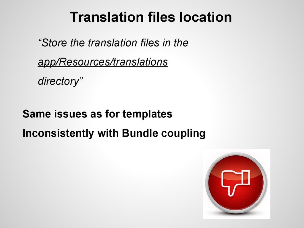 "Translation files location ""Store the translati..."