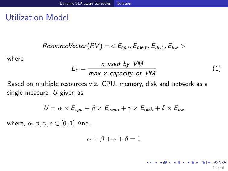 Dynamic SLA aware Scheduler Solution Utilizatio...