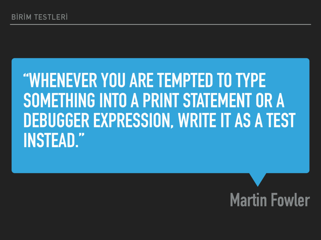 """""""WHENEVER YOU ARE TEMPTED TO TYPE SOMETHING INT..."""