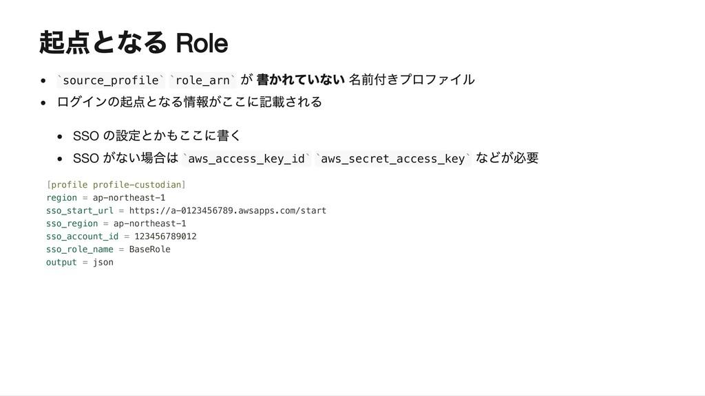 Role source_profile role_arn SSO SSO aws_access...