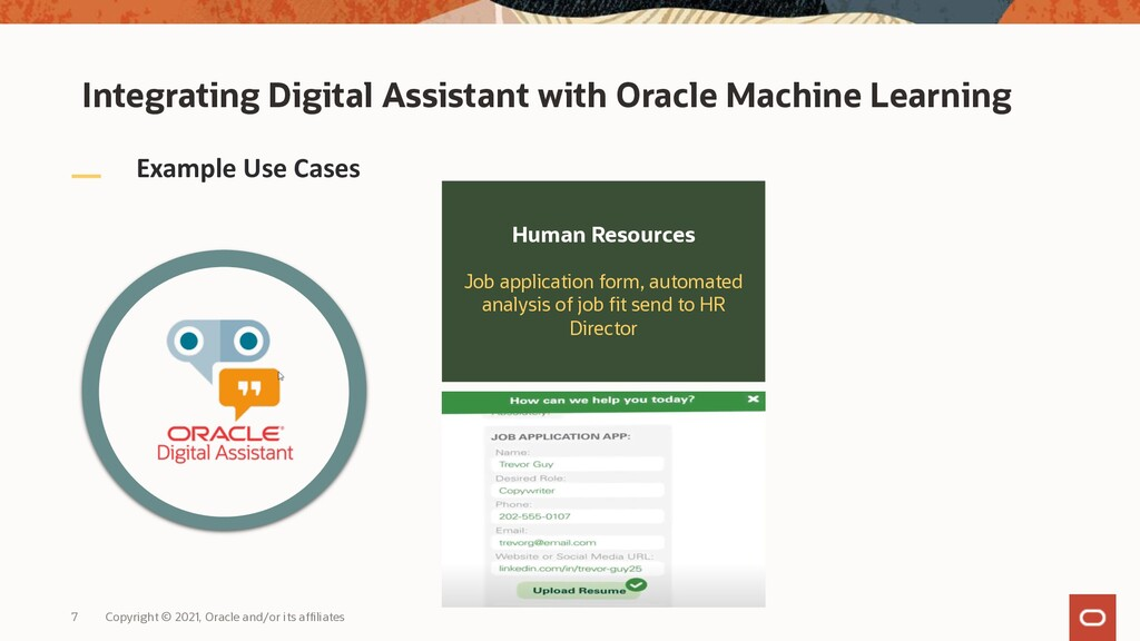 Example Use Cases Human Resources Job applicati...