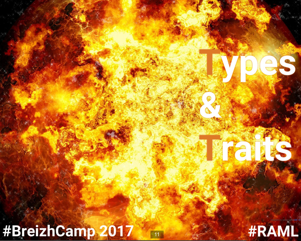 Types & Traits Explosion by mikegi under CC0 1....