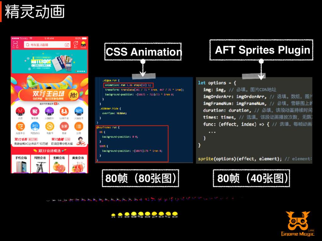 ਫ਼䈻动ը CSS Animation AFT Sprites Plugin 80帧(80张图)...