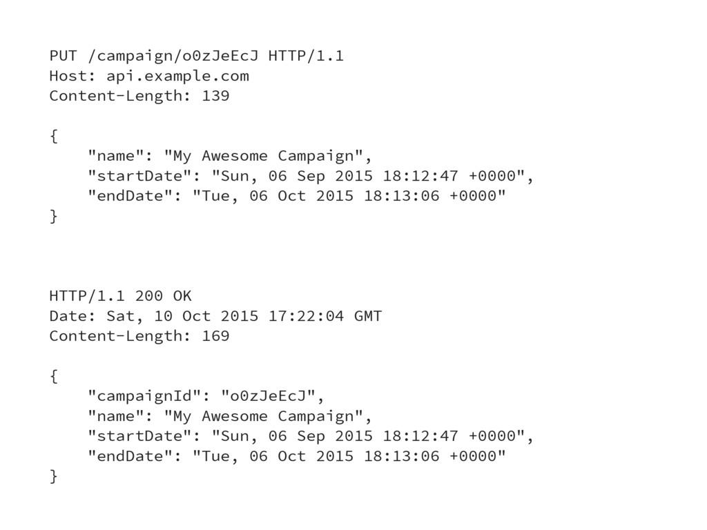 PUT /campaign/o0zJeEcJ HTTP/1.1 Host: api.examp...