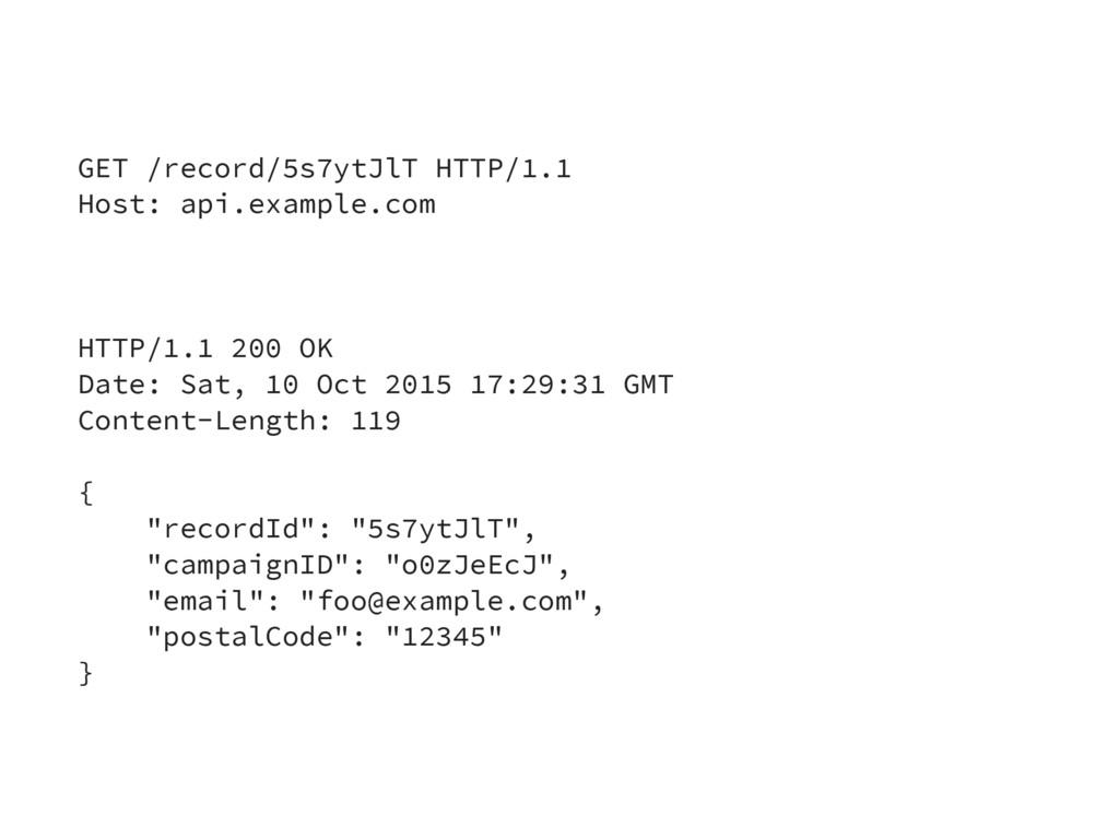 GET /record/5s7ytJlT HTTP/1.1 Host: api.example...