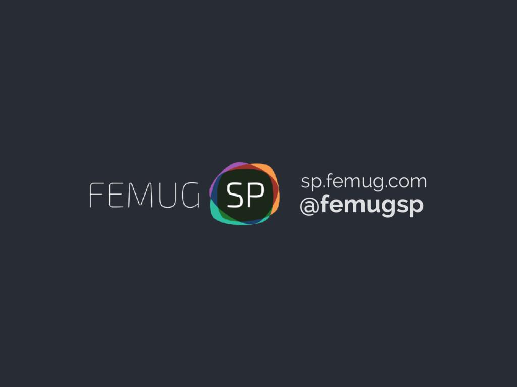@femugsp sp.femug.com