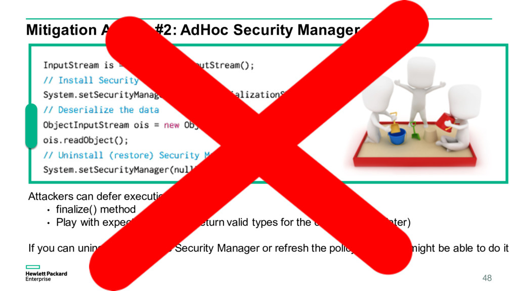 48 Mitigation Advice #2: AdHoc Security Manager...