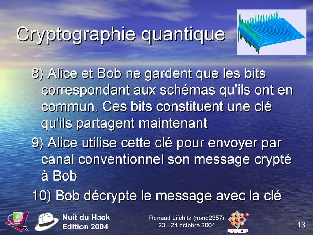 13 Nuit du Hack Edition 2004 Renaud Lifchitz (n...