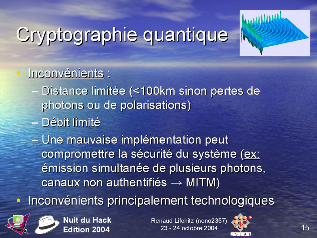 15 Nuit du Hack Edition 2004 Renaud Lifchitz (n...