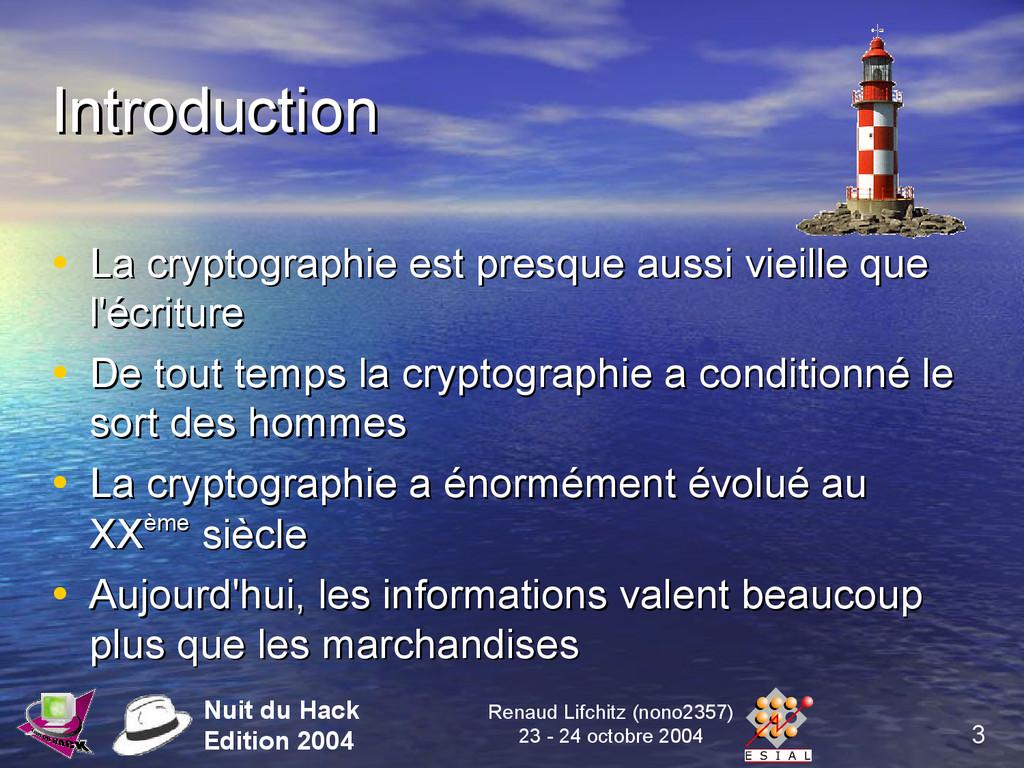 3 Nuit du Hack Edition 2004 Renaud Lifchitz (no...