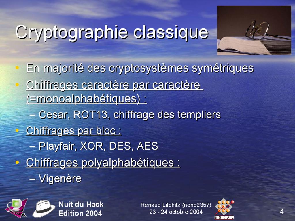4 Nuit du Hack Edition 2004 Renaud Lifchitz (no...