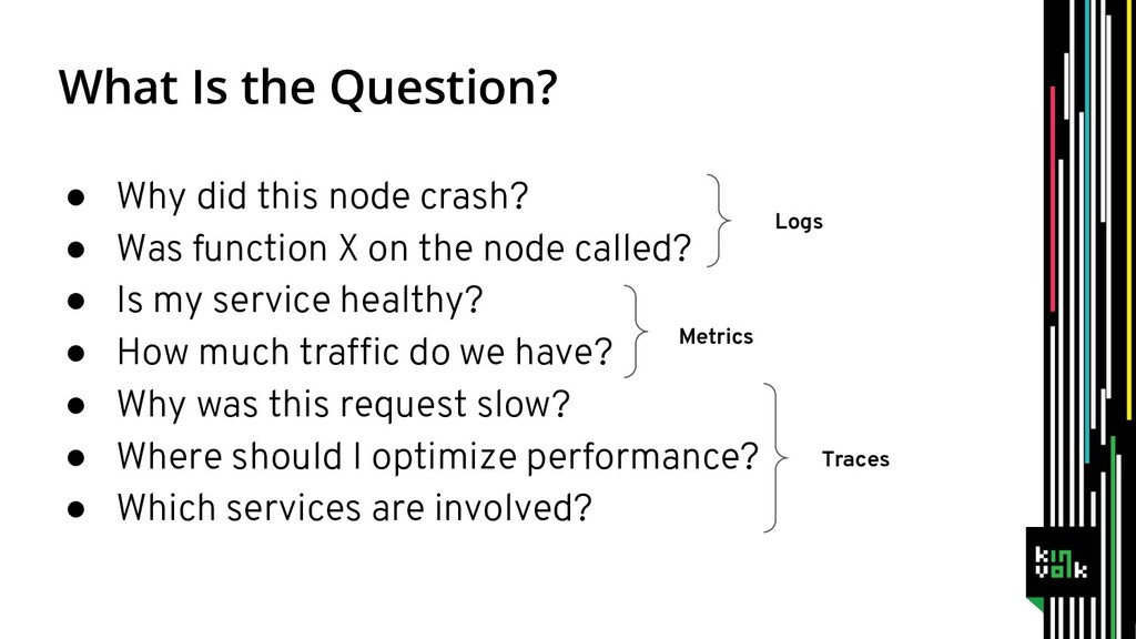 What Is the Question? ● Why did this node crash...