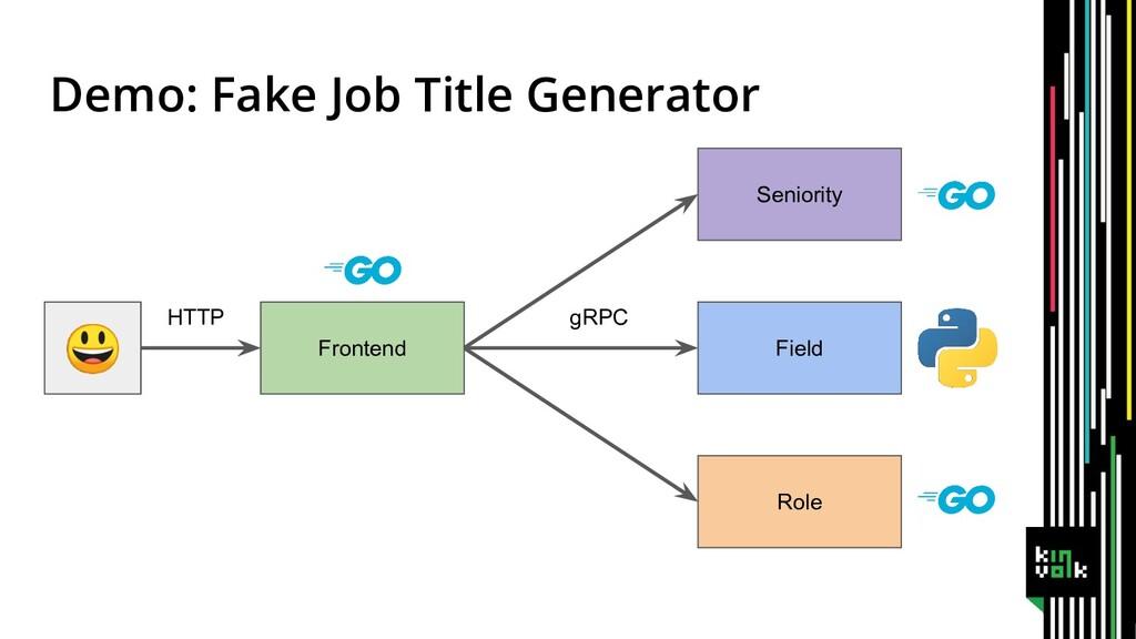 Frontend Seniority Field Role Demo: Fake Job Ti...