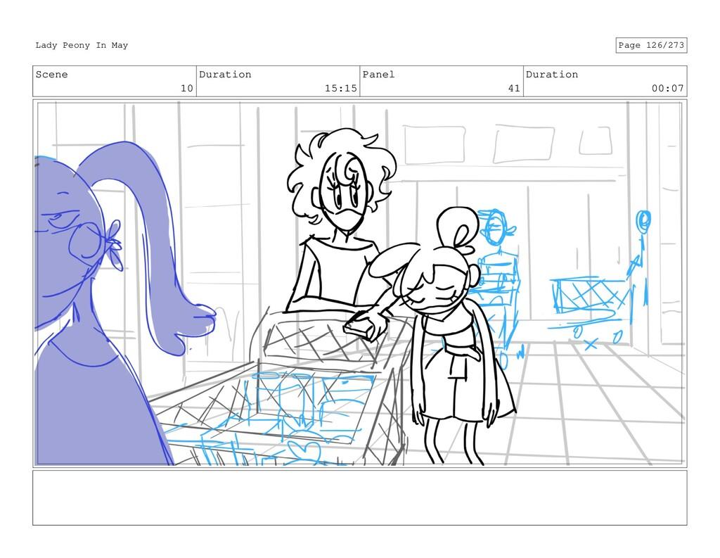 Scene 10 Duration 15:15 Panel 41 Duration 00:07...