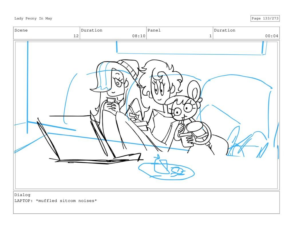 Scene 12 Duration 08:10 Panel 1 Duration 00:04 ...