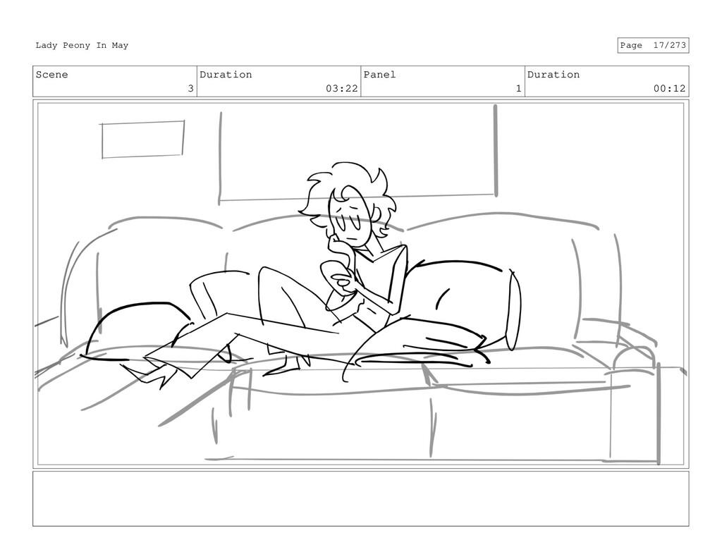 Scene 3 Duration 03:22 Panel 1 Duration 00:12 L...