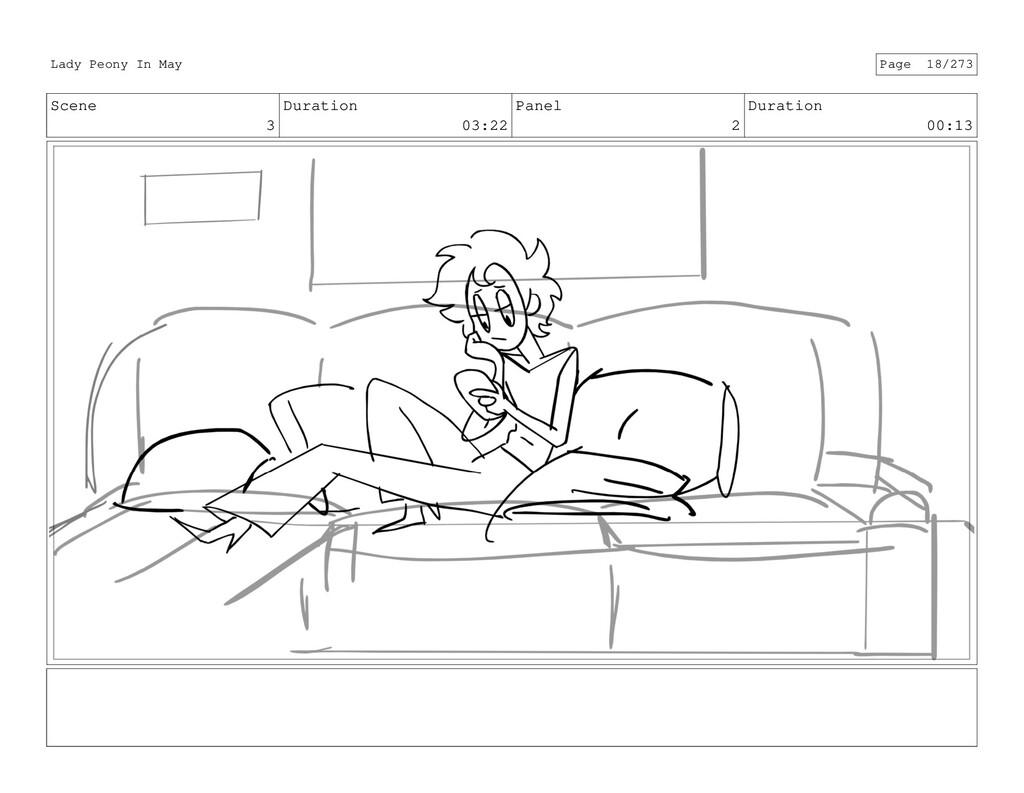 Scene 3 Duration 03:22 Panel 2 Duration 00:13 L...