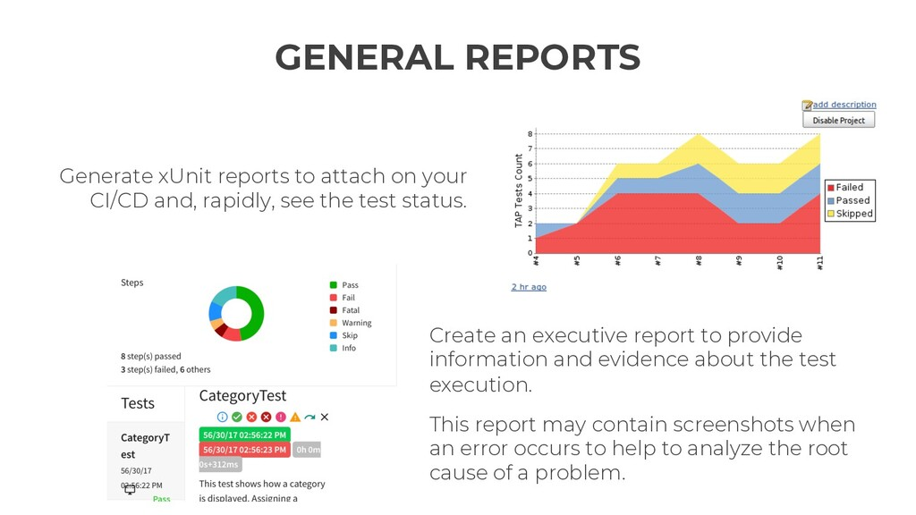 Generate xUnit reports to attach on your CI/CD ...