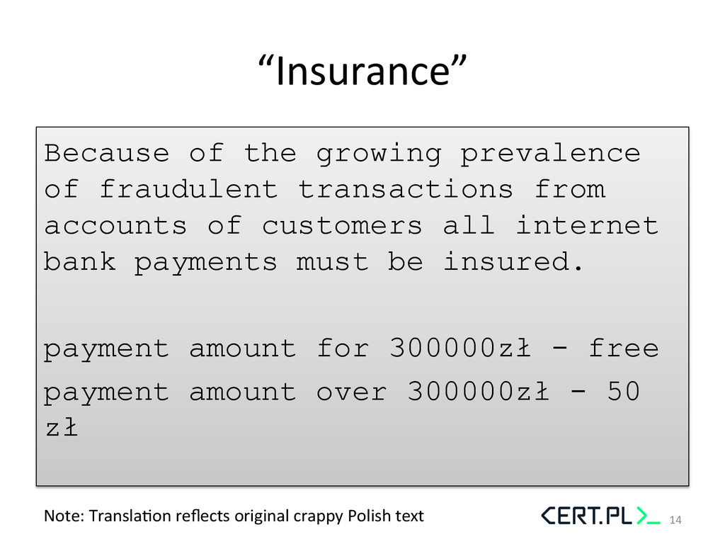 """""""Insurance""""  Because of the growing prevalen..."""