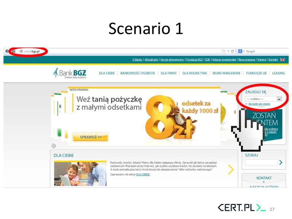 Scenario 1  27
