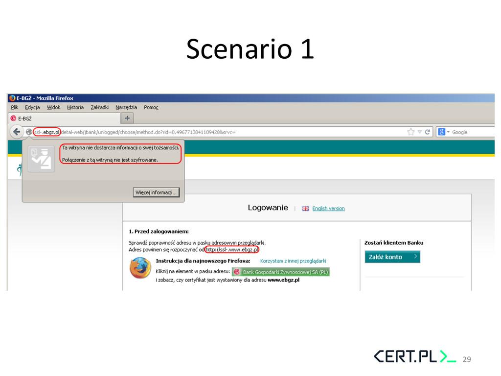 Scenario 1  29