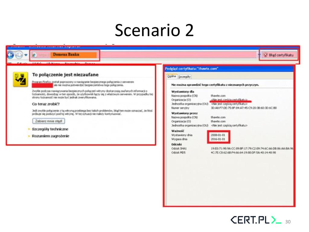 Scenario 2  30