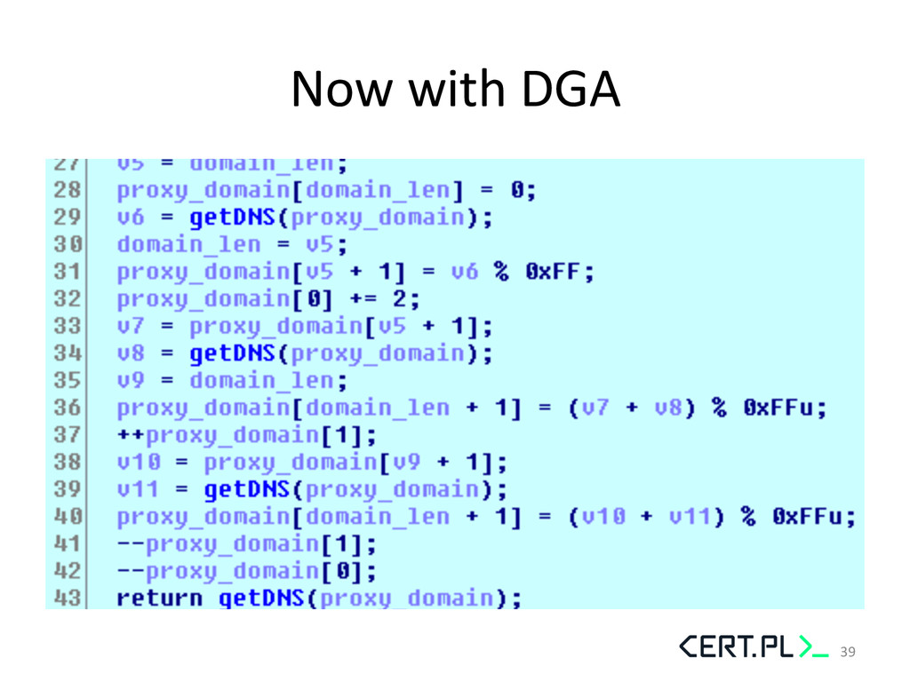 Now with DGA  39