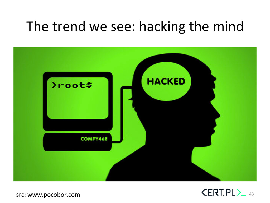 The trend we see: hacking the ...