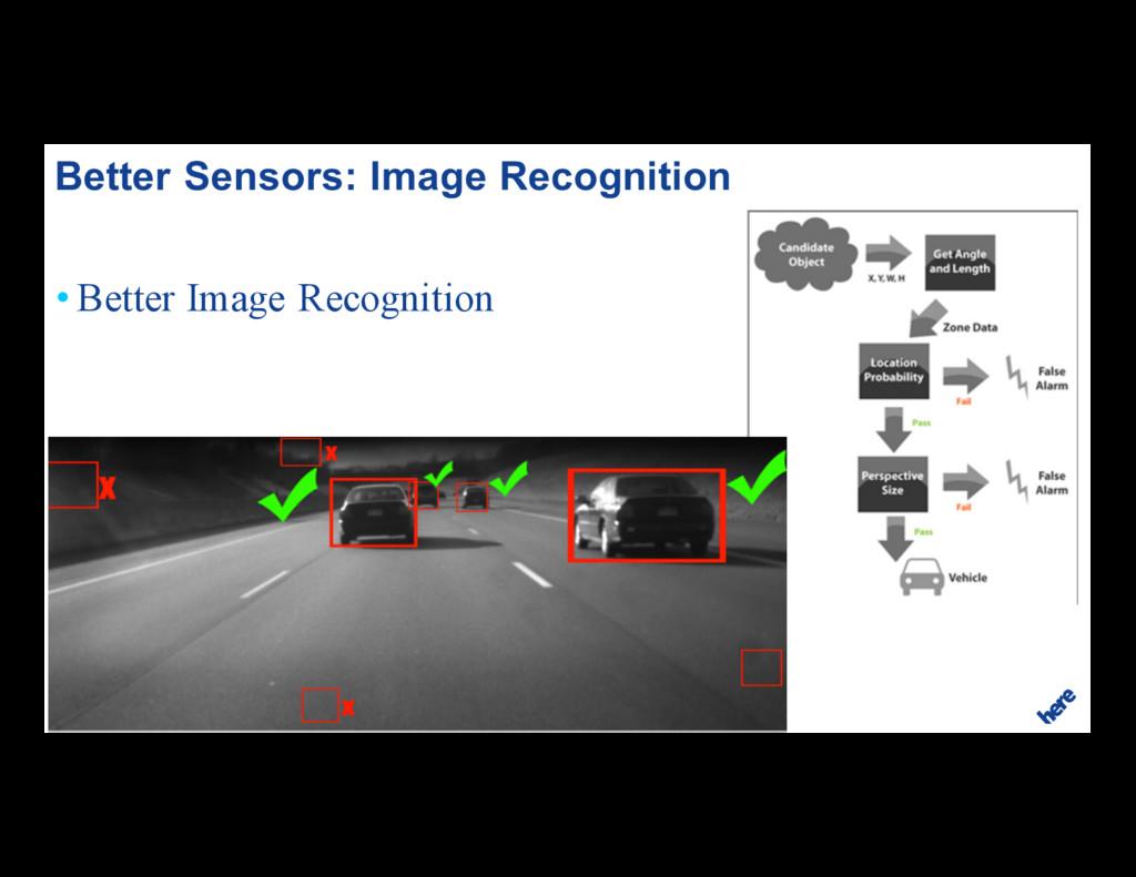 18 • Better Image Recognition Better Sensors: I...