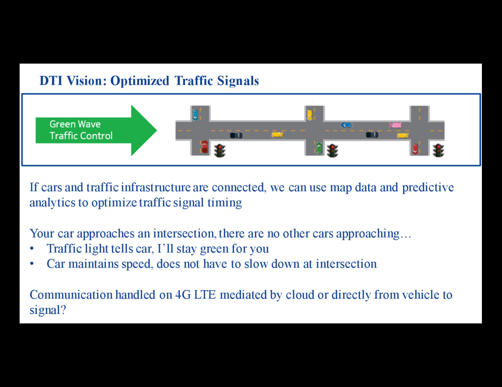 If cars and traffic infrastructure are connecte...